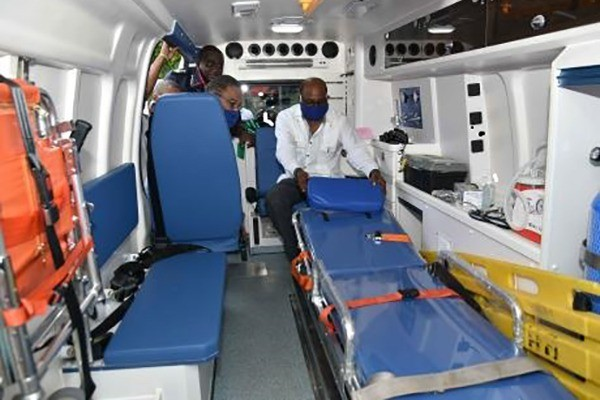 Negril Fire Station Gets Ambulance Valued At $18 Million
